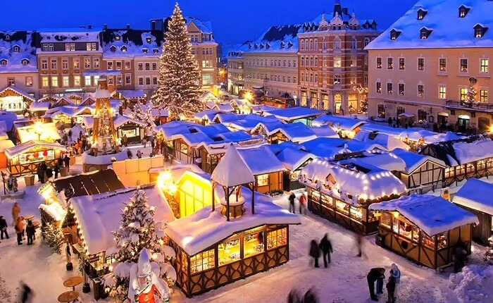 Christmas in Strasbourg, France