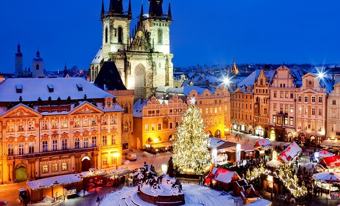 Christmas in Prague, Czech Republic