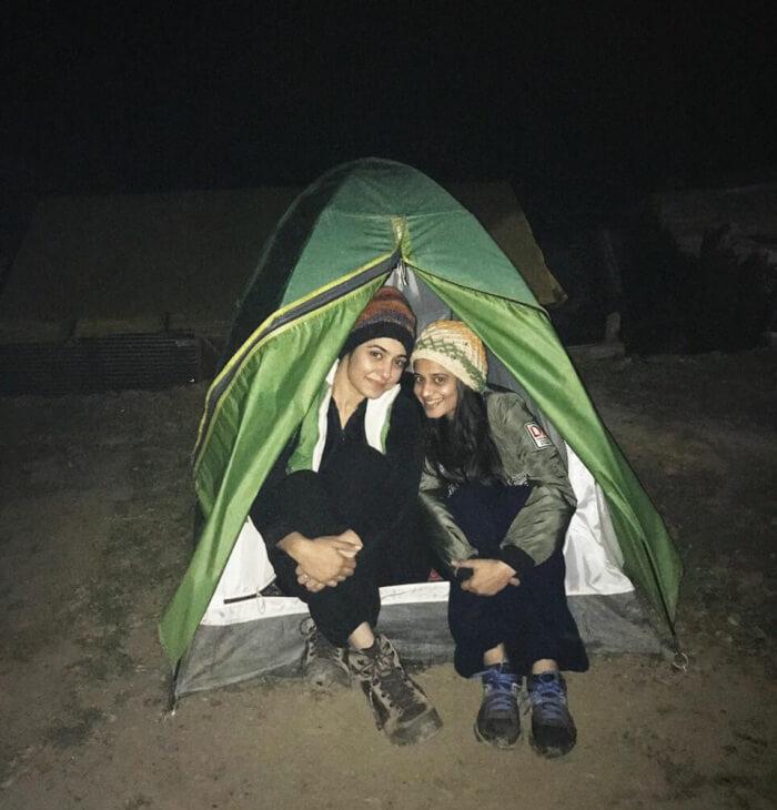 camping trekking kheerganga