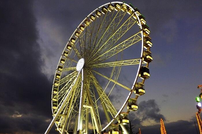 Giant Ferris Wheel at Winter Wonderland Hyde Park