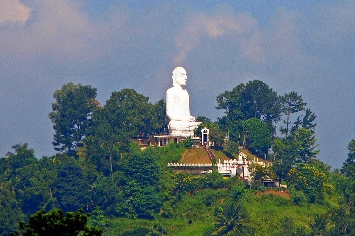 The Big Buddha Statue, Kandy