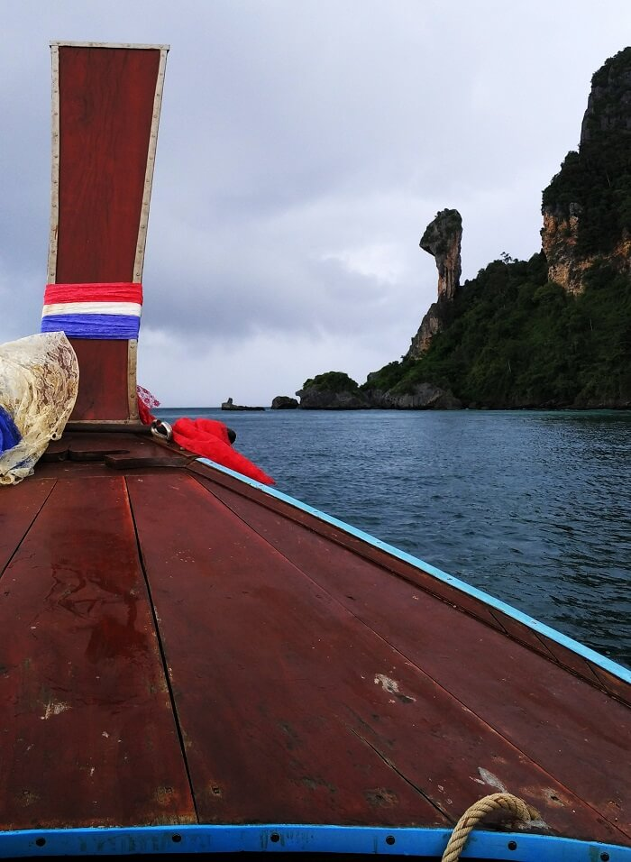 Boating in Phuket on honeymoon
