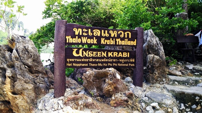 Island of Krabi Thailand