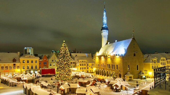 Christmas at Tallinn, Estonia