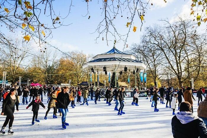 Ice Rink, Winter Wonderland Hyde Park