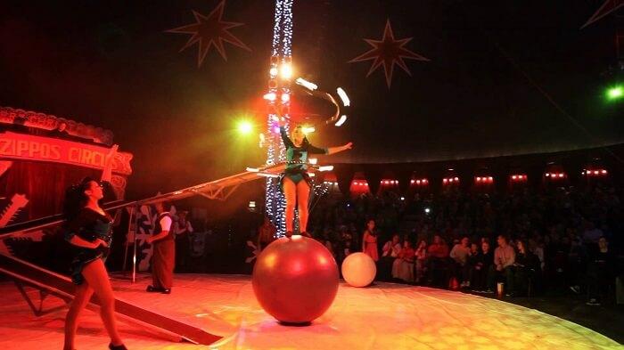 Zippos Circus Show, Winter Wonderland