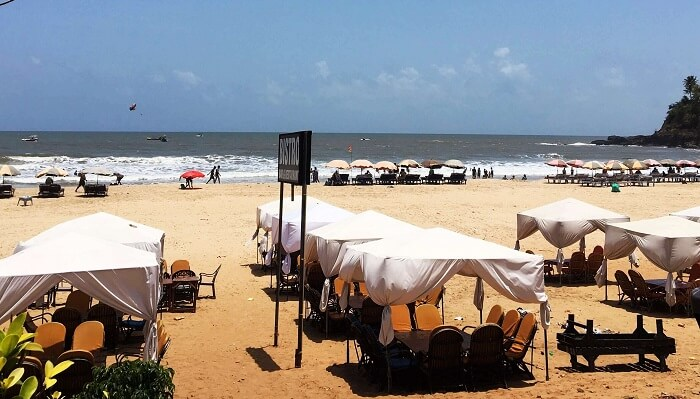 Britto's Shack Baga Goa