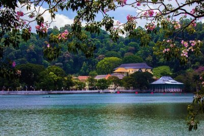 Kandy Lake, Sri Lanka