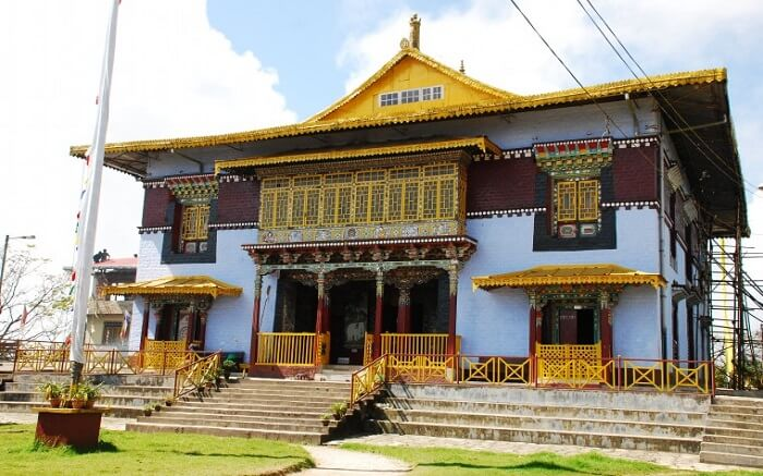 A view of Pemayangtse Monastery in Sikkim ss28112016