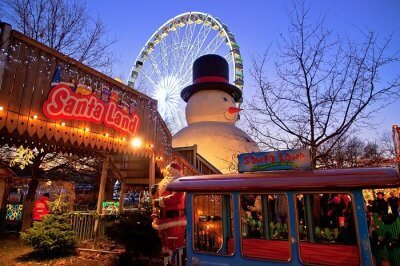 Santa Land at Winter Wonderland Hyde Park