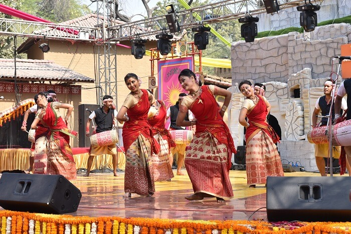 Cultural perfromances at Surajkund Crafts Mela
