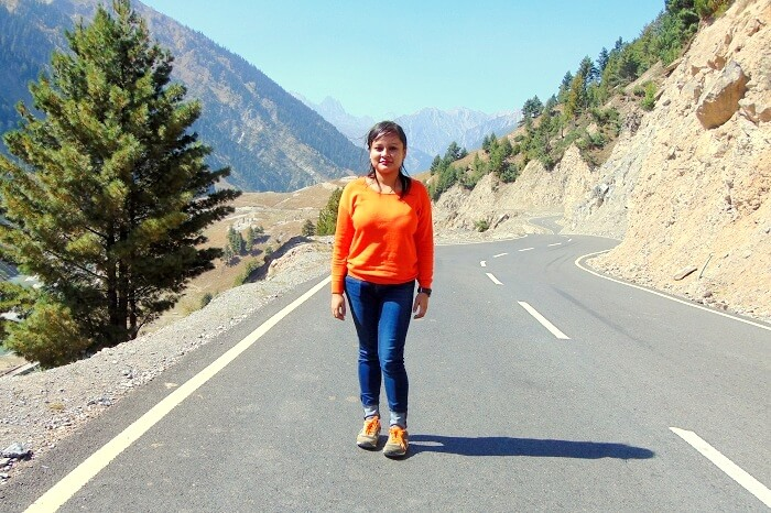 road to Sonmarg