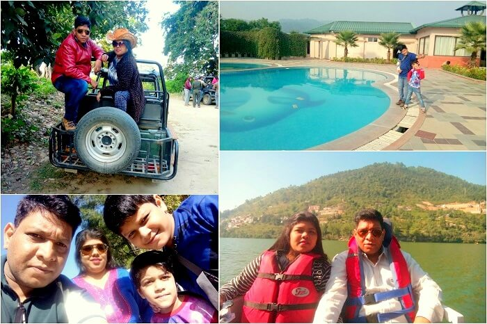 family vacation in Jim Corbett