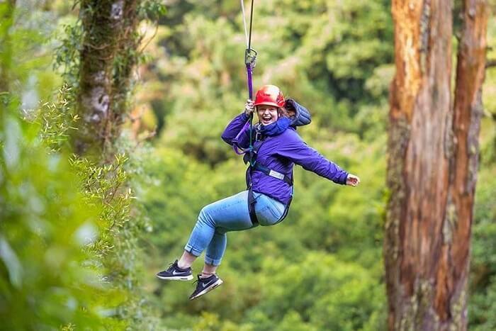 Go paddle-boarding & ziplining in Fun Forest