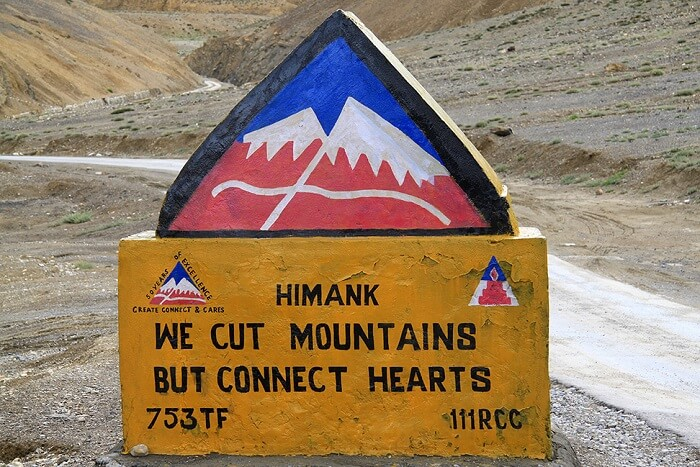 Highest Motorable Road In The World project himank