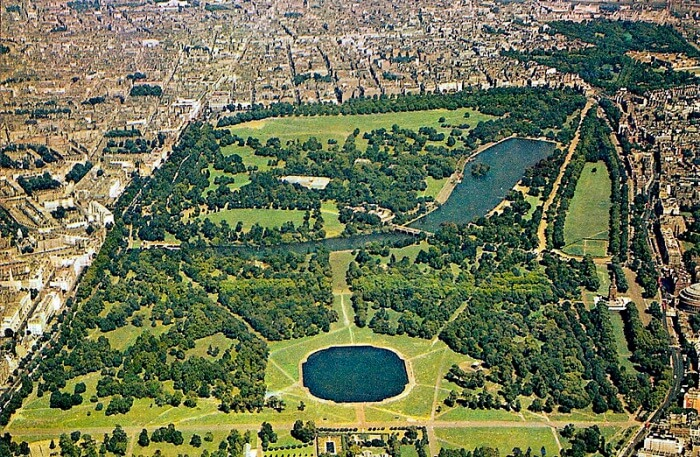 Hyde Park Aerial View