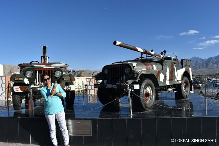 lokpal romantic trip to ladakh: war memorial