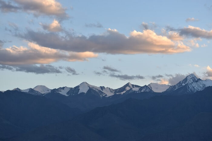 lokpal romantic trip to ladakh: scenic views of hills
