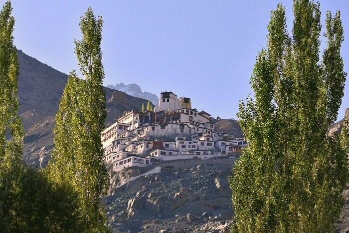 lokpal romantic trip to ladakh: thiksey monastery