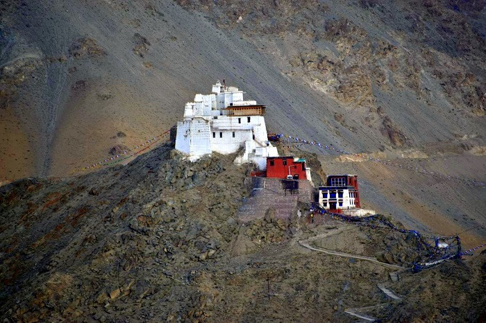 lokpal romantic trip to ladakh: monastery in leh