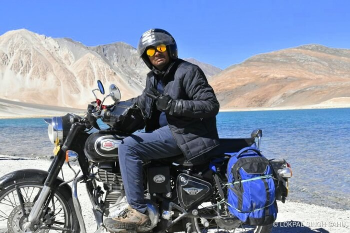 lokpal romantic trip to ladakh: bike ride in ladakh