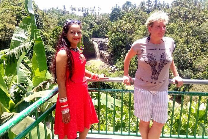 pankaj honeymoon trip to bali: neat tegallalang fields