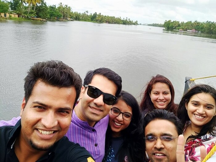 kerala friends trip