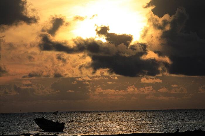sunrise in neil island