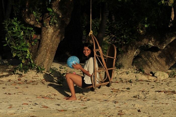 family trip to neil island
