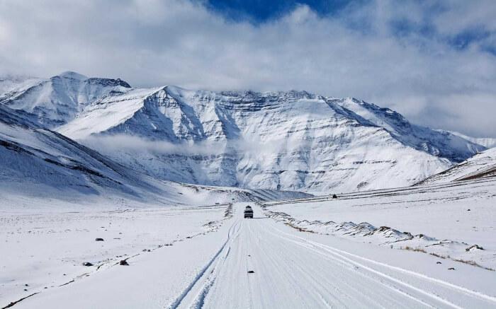 Kargil during Winter