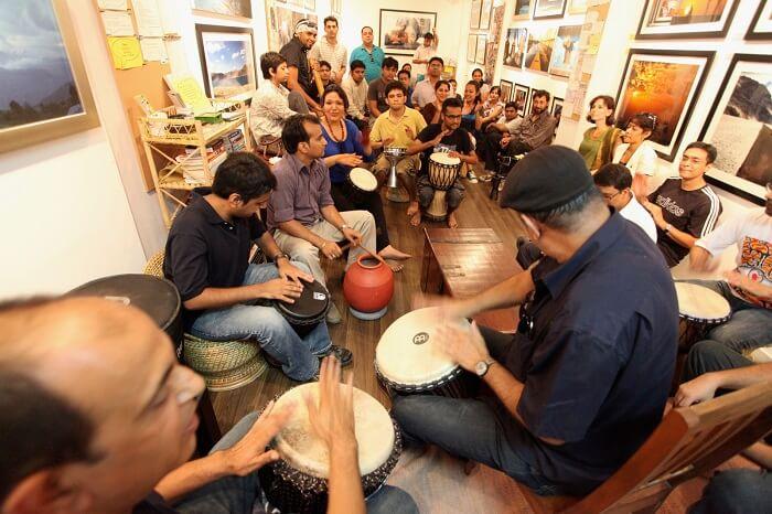 Kunzum Cafe in Delhi