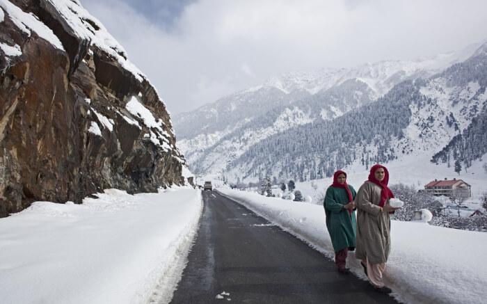 Snowfall In Kashmir An Encounter With Heaven In 2018