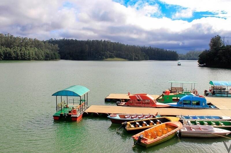 visit Pykara Lake in mudumalai