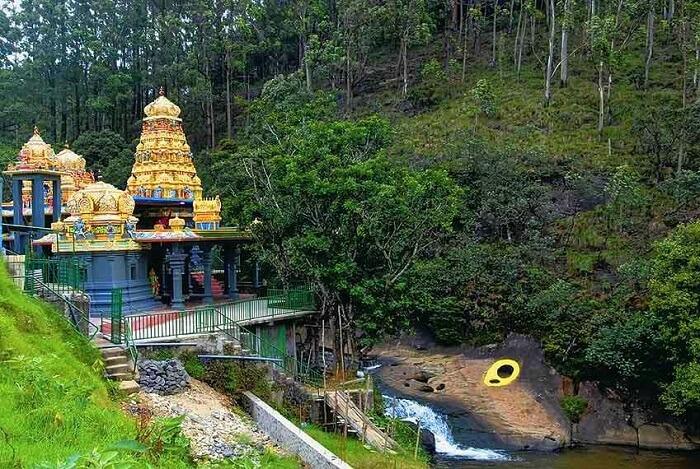 Seek blessings at the Seetha Amman Temple in Sri Lanka