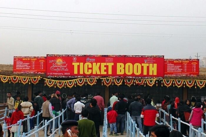 Surajkund Mela Entry Ticket