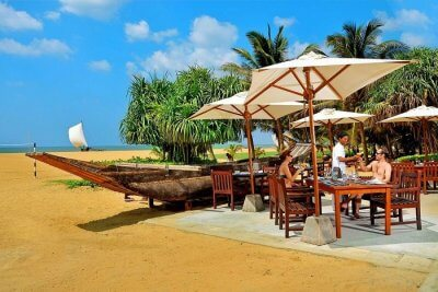 Unwind in Negombo in Sri Lanka