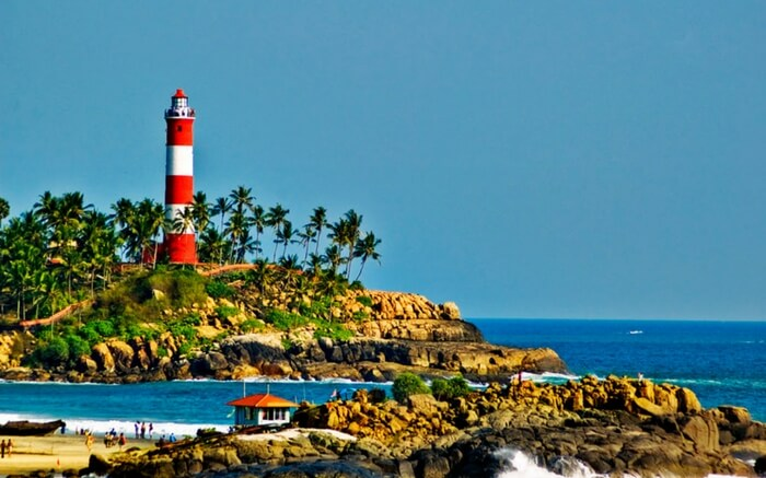 Beaches of Kovalam - best honeymoon hideaway in Kerala