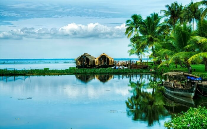 The real beauty of backwaters and lagoons in Kumarakom, Kerala