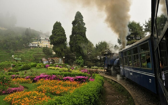 A breathtaking view of Darjeeling on a Toy Train ride
