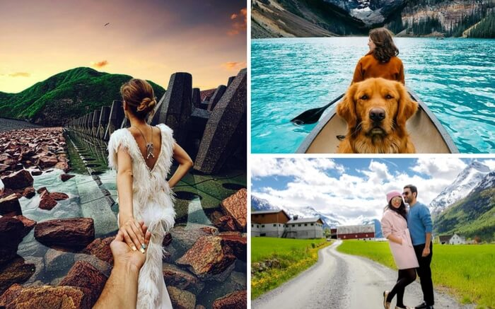Popular travel bloggers on Instagram