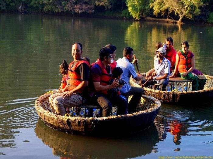 coracle ride in dandeli