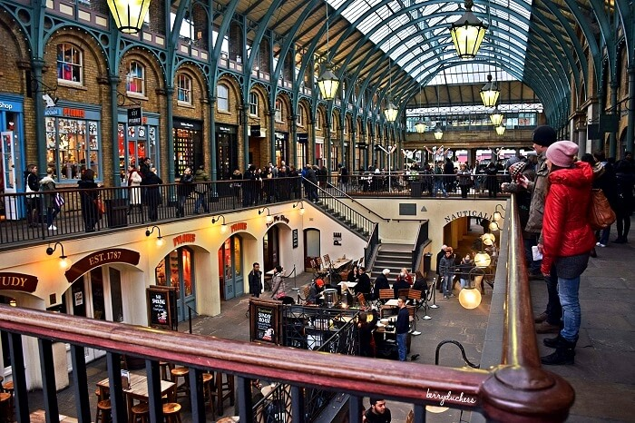 Covent Garden in London