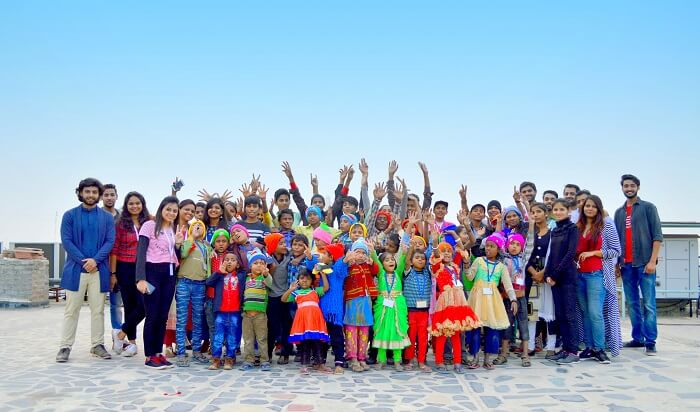 children's day celebration at traveltriangle with bucket list