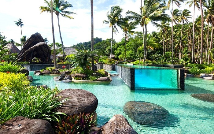 7 star resort in fiji