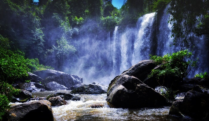 The Phnom Kulen National Park