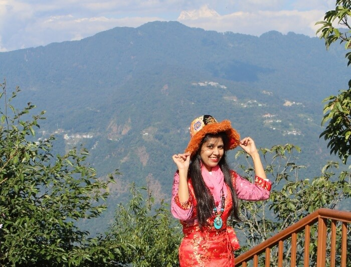 tashi view point sikkim dress