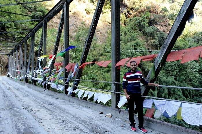 bridge on way to lachung