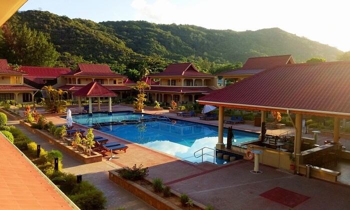 Resort in Praslin Island, Seychelles