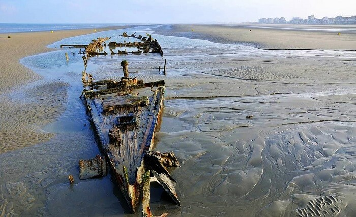 Beaches of Dunkirk, France