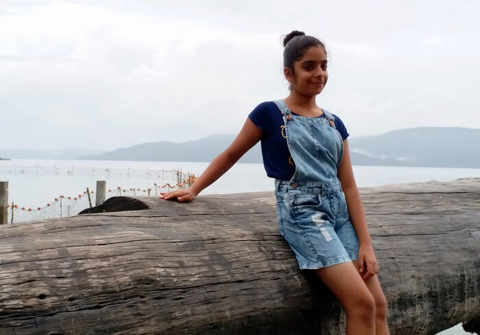Girl in Andaman